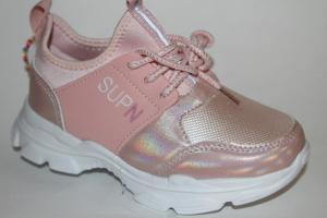 Фото Спортивная обувь, КРОССОВКИ, Большие размеры Кроссовки 030-33 розовый