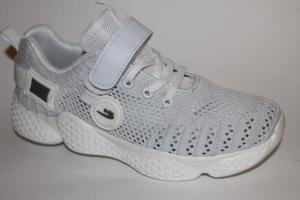 Фото Спортивная обувь, КРОССОВКИ, Большие размеры Ботинки 1909D-2 белый