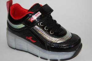 Фото Спортивная обувь, КРОССОВКИ, Большие размеры Кроссовки-ролики 913 черный