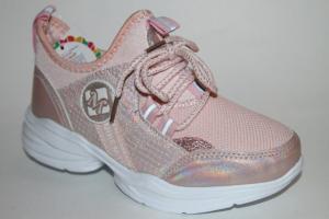 Фото Спортивная обувь, КРОССОВКИ, Большие размеры Кроссовки 030-20 розовый