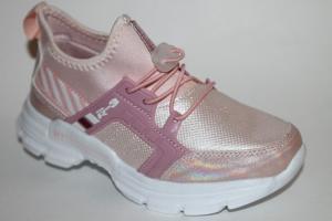 Фото Спортивная обувь, КРОССОВКИ, Большие размеры Кроссовки 030-23 розовый