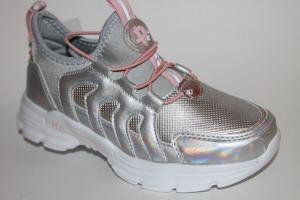 Фото Спортивная обувь, КРОССОВКИ, Большие размеры Кроссовки 030-19 серебро