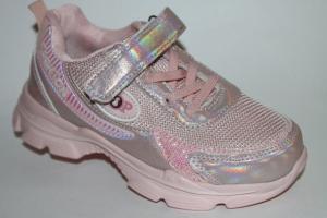 Фото Спортивная обувь, КРОССОВКИ, Большие размеры Кроссовки 029-45 розовый