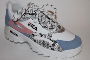 Фото Спортивная обувь, КРОССОВКИ, Большие размеры Кроссовки 8807 голубой