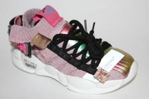 Фото Спортивная обувь, КРОССОВКИ, Большие размеры Кроссовки А909 розовый