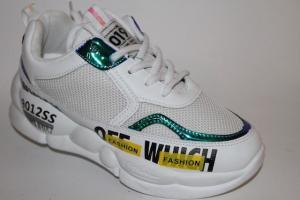 Фото Спортивная обувь, КРОССОВКИ, Большие размеры Кроссовки 806 белый
