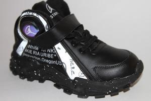 Фото Спортивная обувь, КРОССОВКИ, Большие размеры Кроссовки М03А черный