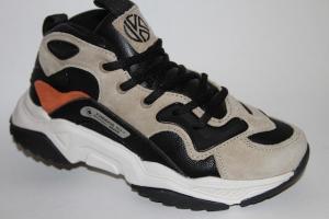 Фото Спортивная обувь, КРОССОВКИ, Большие размеры Кроссовки 943410 бежевый