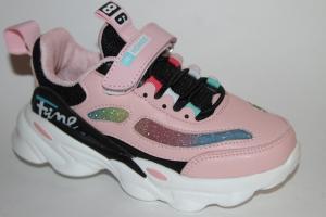 Фото Спортивная обувь, КРОССОВКИ, Большие размеры Кроссовки К-623 розовый