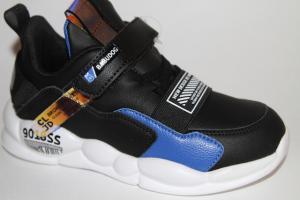 Фото Спортивная обувь, КРОССОВКИ, Большие размеры Кроссовки 20999 черный/синий