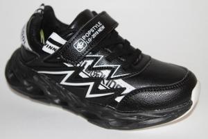 Фото Спортивная обувь, КРОССОВКИ, Большие размеры Кроссовки 3978 черный/белый