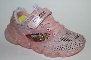 Фото Спортивная обувь, КРОССОВКИ, Большие размеры Кроссовки 3995 розовый