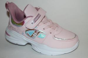 Фото Спортивная обувь, КРОССОВКИ, Большие размеры Кроссовки 9959 розовый