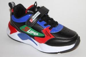 Фото Спортивная обувь, КРОССОВКИ, Большие размеры Кроссовки 58678 черный