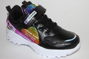 Фото Спортивная обувь, КРОССОВКИ, Большие размеры Кроссовки 9961 черный