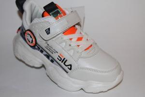 Фото Спортивная обувь, КРОССОВКИ, Большие размеры Кроссовки 77911 бежевый