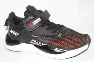 Фото Спортивная обувь, КРОССОВКИ, Большие размеры Кроссовки D003 черный(до 38)