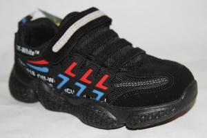Фото Спортивная обувь, КРОССОВКИ, Большие размеры Кроссовки 19968 черный