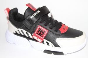 Фото Спортивная обувь, КРОССОВКИ, Большие размеры Кроссовки 2295 черный/бежевый