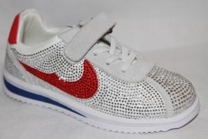 Фото Спортивная обувь, КРОССОВКИ, Большие размеры Кроссовки 8385-2 белый