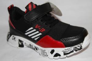 Фото Спортивная обувь, КРОССОВКИ, Большие размеры Кроссовки J16В красный