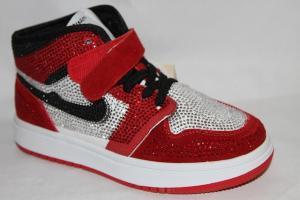 Фото Спортивная обувь, КРОССОВКИ, Большие размеры Кроссовки 8381-2 красный