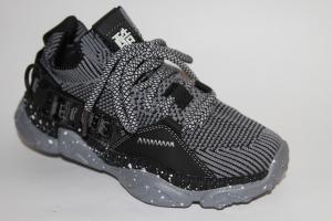 Фото Спортивная обувь, КРОССОВКИ, Большие размеры Кроссовки М25858 серый
