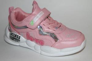 Фото Спортивная обувь, КРОССОВКИ, Большие размеры Кроссовки 20118 розовый