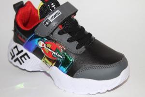 Фото Спортивная обувь, КРОССОВКИ, Большие размеры Кроссовки К625 черный