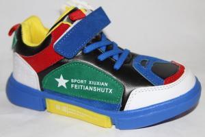 Фото Спортивная обувь, КРОССОВКИ, Большие размеры Кроссовки А92-3 синий