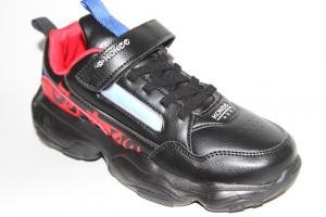Фото Спортивная обувь, КРОССОВКИ, Большие размеры Кроссовки К-701 черный