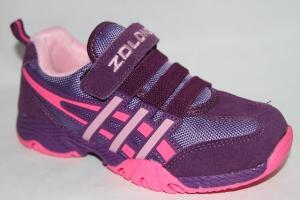 Фото Спортивная обувь, КРОССОВКИ, Большие размеры Кроссовки 7988 фиолетовый