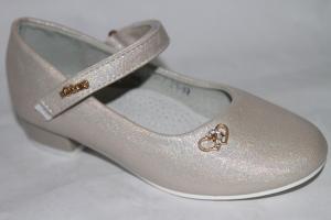 Фото Туфли, Туфли девочки до 38 Туфли А015-7 серебро