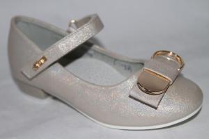 Фото Туфли, Туфли девочки до 38 Туфли А015-22 серебро