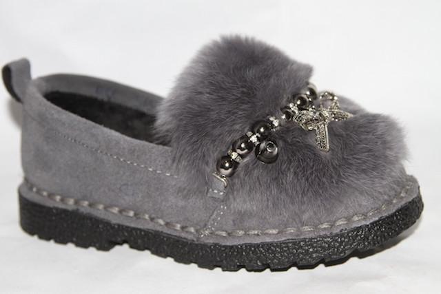 Туфли S15-3 серый