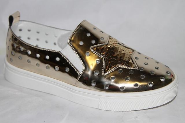 Туфли 7803-3 золотой
