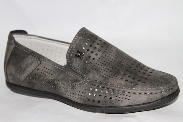 Туфли 892-52А серый