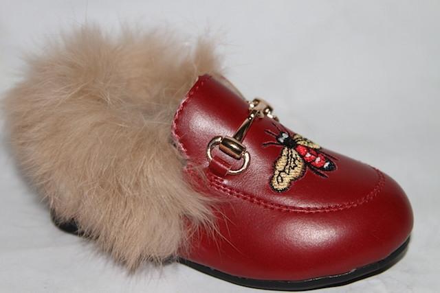 Туфли С261 красный