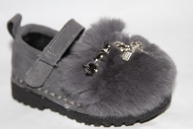 Туфли S15-1 серый