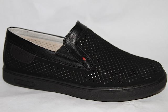 Туфли 873-72D черный