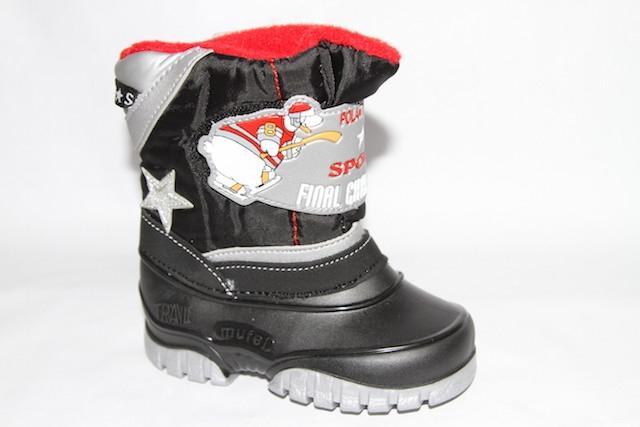 Ботинки 3811 черный