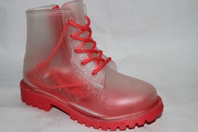 Ботинки Н55 красный