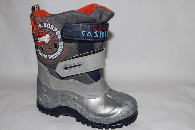 Ботинки 3861-6 серый