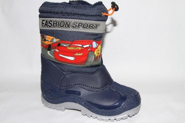 Ботинки 38093 синий