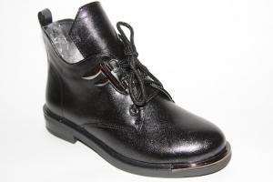 Фото Демисезонная обувь, Демисезонная обувь девочки до 38 Ботинки 5177-R322 черный