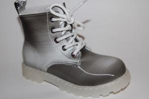 Фото Демисезонная обувь, Демисезонная обувь девочки до 38 Ботинки А96023-1 серый
