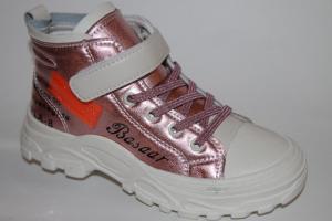 Фото Демисезонная обувь, Демисезонная обувь девочки до 38 Ботинки 1913 розовый