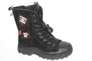 Фото Демисезонная обувь, Демисезонная обувь девочки до 38 Ботинки 99556 черный