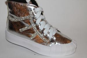Фото Демисезонная обувь, Демисезонная обувь девочки до 38 Ботинки FZ888-1А серый