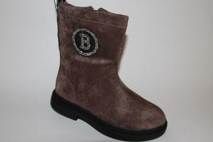 Фото Демисезонная обувь, Демисезонная обувь девочки до 38 Ботинки F667-1 коричневый